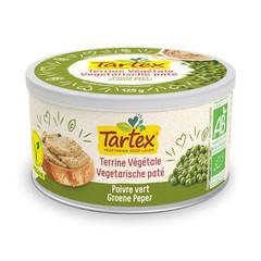 Tartex Pate groene peper (125 gram)