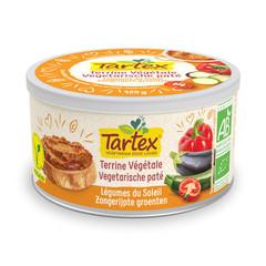 Tartex Pate zongerijpte groente (125 gram)