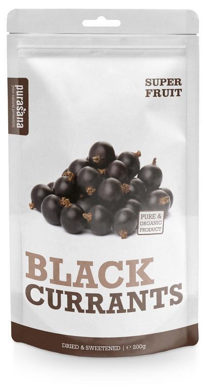 Purasana Black currants (200 gram)