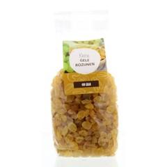Mijnnatuurwinkel Gele sulatana rozijnen (400 gram)