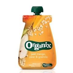 Organix Just oatmeal pear granola 6-36 maanden (100 gram)