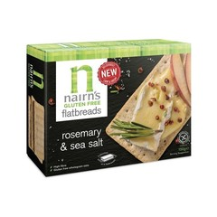 Nairns Flatbread rosemary & seasalt (150 gram)