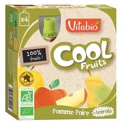 Vitabio Coolfruit appel peer 90 gram (4 stuks)