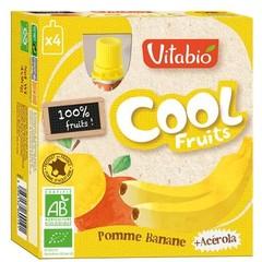 Vitabio Coolfruit appel banaan 90 gram (4 stuks)