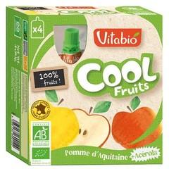 Vitabio Coolfruit appel 90 gram (4 stuks)