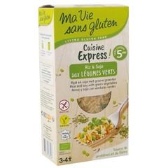 Ma Vie Sans Rijst express gekookt soja groente (220 gram)