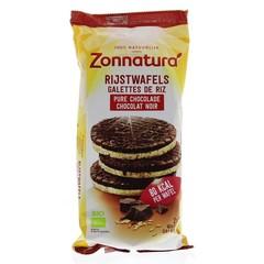 Zonnatura Rijstwafels choco puur (100 gram)
