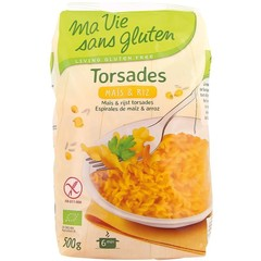 Ma Vie Sans Rijst/mais spirelli bio - glutenvrij (500 gram)