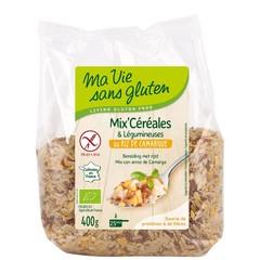 Ma Vie Sans Mix camargue rijst/groenten bio - glutenvrij (400 gram)