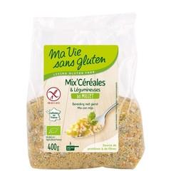 Ma Vie Sans Mix millet/groenten bio - glutenvrij (400 gram)