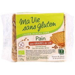 Ma Vie Sans Brood lijnzaad bio - glutenvrij (375 gram)