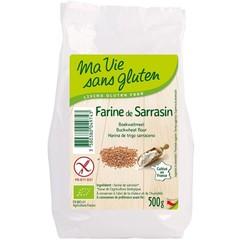 Ma Vie Sans Boekweitmeel bio - glutenvrij (500 gram)