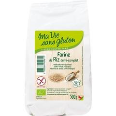 Ma Vie Sans Rijstmeel halfvolkoren bio - glutenvrij (500 gram)