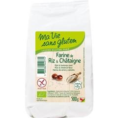Ma Vie Sans Rijst & kastanjemeel bio - glutenvrij (500 gram)