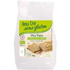 Ma Vie Sans Broodmeel met gierst en zaden bio - glutenvrij (500 gram)