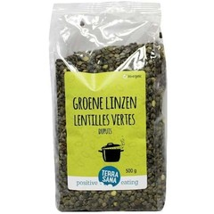 Terrasana Groene linzen dupuis (500 gram)