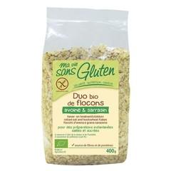 Ma Vie Sans Haver en boekweit vlokken glutenvrij (400 gram)
