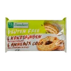 Damhert Kokosringen fruitvulling glutenvrij (240 gram)