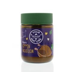 Your Organic Nat Heldere kippenbouillonpoeder zonder gist (110 gram)