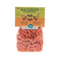 Terrasana Maccheroni di lentic 100% rode linzen (250 gram)