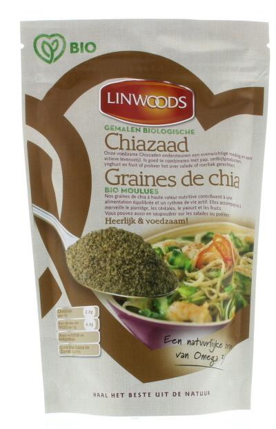 Linwoods Linwoods Chiazaad gemalen (200 gram)