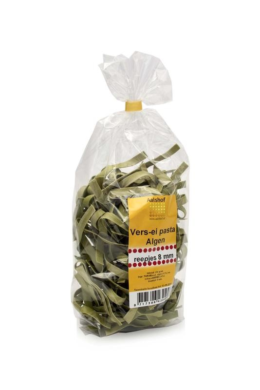 De Aalshof De Aalshof Eipasta met algen (250 gram)