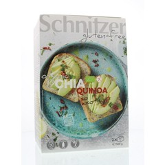 Schnitzer Brood chia & quinoa (500 gram)
