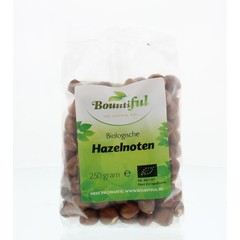 Bountiful Hazelnoten bio (250 gram)