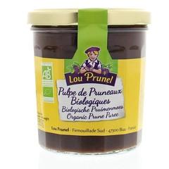 Lou Prunel Pruimen jam bio zonder toegevoegde suikers (335 gram)