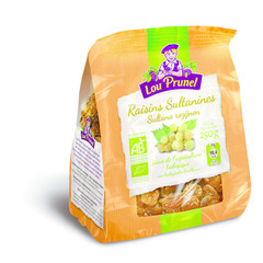 Lou Prunel Sultanas rozijnen gedroogd bio (250 gram)