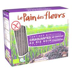 Pain Des Fleurs Zwarte rijst crackers (150 gram)