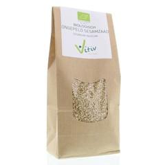 Vitiv Sesamzaad ongepeld (500 gram)