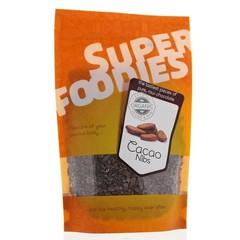 Superfoodies Rauwe cacao nibs (250 gram)