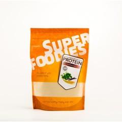 Superfoodies Gefermenteerde bruine rijst eiwitpoeder vanille (500 gram)