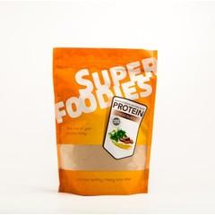 Superfoodies Gefermenteerde bruine rijst eiwit poeder chocolade (500 gram)