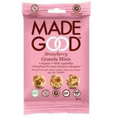 Made Good Granola minis aardbei (24 gram)