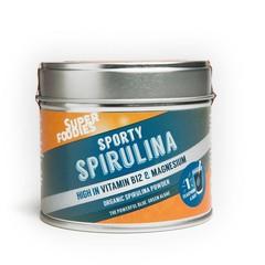 Superfoodies Spirulina blauwgroene algenpoeder (75 gram)