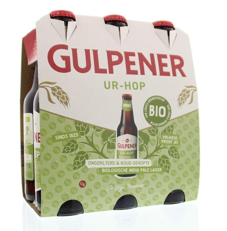 Gulpener Gulpener Pilsener bio ur hop 6x50ml (6 stuks)