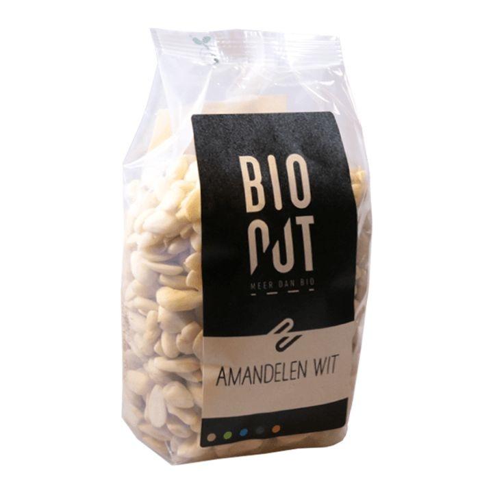Bionut Bionut Amandelen wit (500 gram)