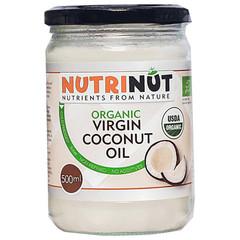 Nutrinut Kokosolie virgin bio in glas (500 ml)