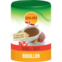 Sublimix Vleesbouillon glutenvrij (220 gram)