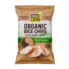 Rice-Up Rijst chips chia & quinoa (25 gram)