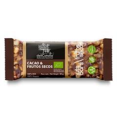 Delicatalia Noten reep met chocolade bio (40 gram)