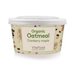 Vitafood Havermout cranberry ahorn (60 gram)