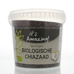 It's Amazing Chia zaad bio (1500 gram)