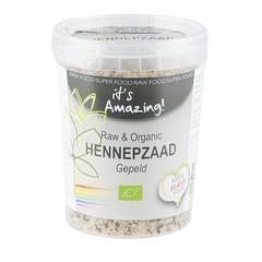 It's Amazing Raw & organic hennepzaad gepeld (250 gram)
