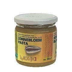 Monki Zonnebloempasta met zout eko (330 gram)