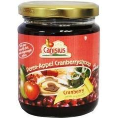 Canisius Peer appel cranberry stroop (300 gram)
