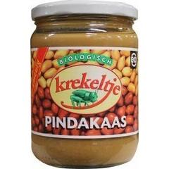 Krekeltje Pindakaas met zout eko (500 gram)