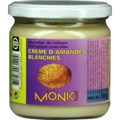 Monki Witte amandelpastas eko (330 gram)